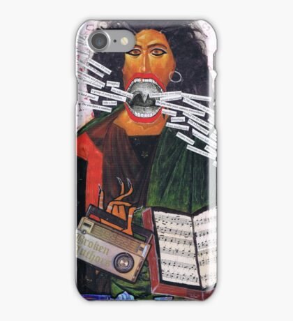 Broken Authors by Lucy Jones iPhone Case/Skin