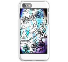 Rachel Doodle Art - Sunshine iPhone Case/Skin