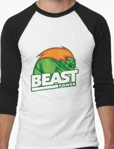 Street Fighter Blanka Men's Baseball ¾ T-Shirt