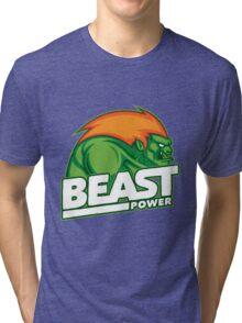 Street Fighter Blanka Tri-blend T-Shirt