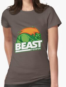 Street Fighter Blanka Womens Fitted T-Shirt