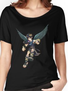 Kid Icarus: Uprising - Dark Pit Women's Relaxed Fit T-Shirt
