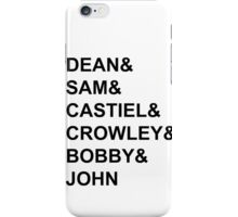 Supernatural - Style  iPhone Case/Skin