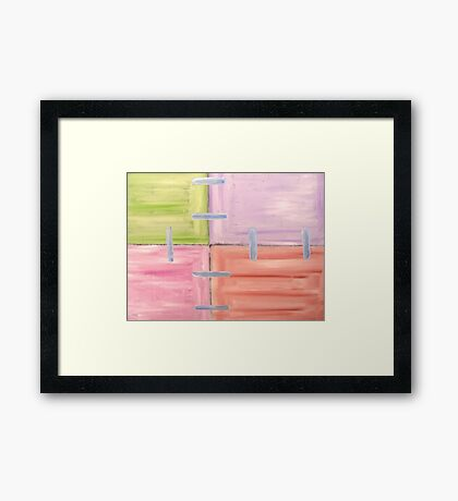 ABSTRACT 474 Framed Print