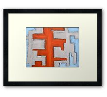 ABSTRACT 454 Framed Print