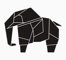 Origami Elephant by Calum Lamb