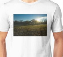 Golden Dew Autumn Sunrise Unisex T-Shirt