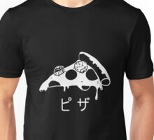 Creepy cute pizza Unisex T-Shirt