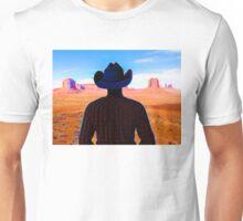 Wandering Wild West Cowboy Unisex T-Shirt
