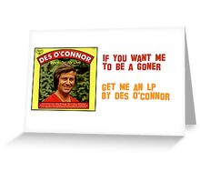 Morecambe & Wise - Des O'Connor Greeting Card