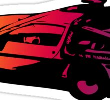 Back to the future Delorean Sticker