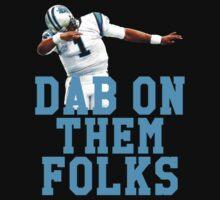 Cam Newton Dab Dance Kids Clothes