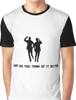 Morecambe & Wise - What Do You Think Of It So Far? Graphic T-Shirt