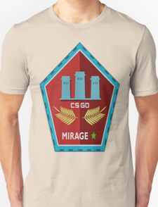 Counter strike global offensive|cs go|Mirage|Maps T-Shirt
