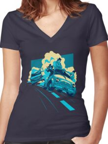 Lupin the 3rd Women's Fitted V-Neck T-Shirt