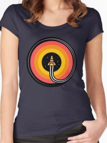 Into The Outer Women's Fitted Scoop T-Shirt