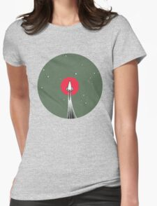 Headed to Mars Womens Fitted T-Shirt