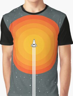 Cruising Past The Sun Graphic T-Shirt