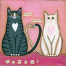 All Is Full Of Love Cats by Ryan Conners