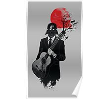 DARTH VADER GUITARIST Poster