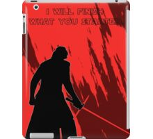 star wars - kylo ren iPad Case/Skin