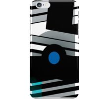 """That's Enough"" Geometric Print by Jenny Meehan  iPhone Case/Skin"