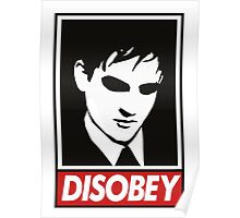 disobey peng Poster