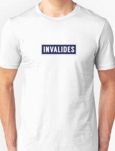INVALIDES Metropolitain Unisex T-Shirt