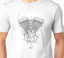 V-Twin Engine 1 Unisex T-Shirt