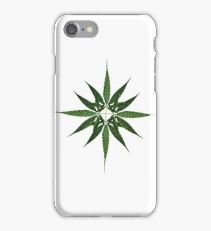 Cannabis leaves multiply iPhone Case/Skin