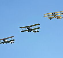 Vintage Avro Formation by Colin Smedley