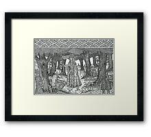 The Mistletoe King Framed Print