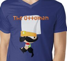 Janissary the Ottoman Warrior (Comics with Label) Mens V-Neck T-Shirt