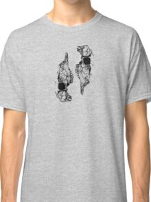 skull study in ink Classic T-Shirt