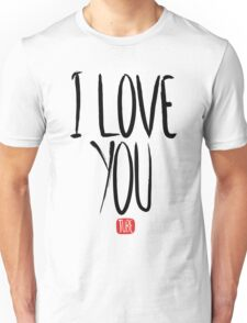 Love Me, Love Me Not: I Love You...Tube T-Shirt