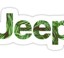 Palm Tree Jeep Sticker Sticker