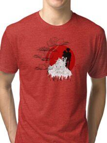 Janapese Castle Tri-blend T-Shirt