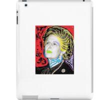 Margaret Thatcher Pop Art iPad Case/Skin