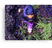 Adventures Of Bat-duck - Decapitation Scene Canvas Print
