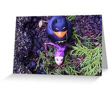 Adventures Of Bat-duck - Decapitation Scene Greeting Card