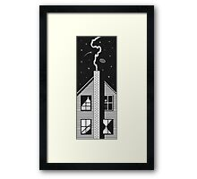 In the Dark Room Framed Print