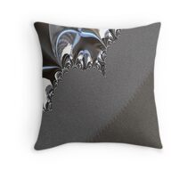 Walking in Desert Throw Pillow