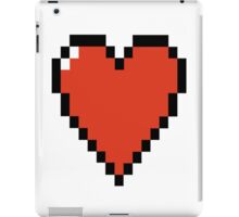 Pixelated HEART - Classic & Retro iPad Case/Skin