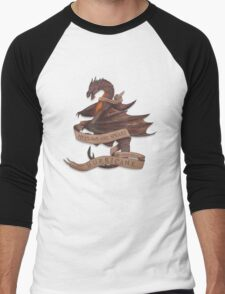 Smaug the Terrible Men's Baseball ¾ T-Shirt
