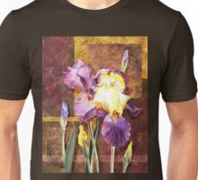 Iris Flower Decorative Artwork Unisex T-Shirt