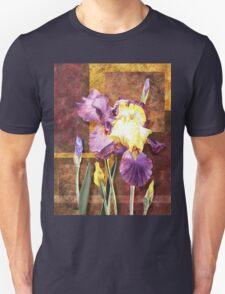 Iris Flower Decorative Artwork T-Shirt