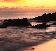 Sunset Seascape St. Thomas  Sticker