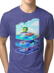 Let's go on an adventure Tri-blend T-Shirt