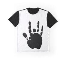 Black Grateful Dead Jerry Garcia Hand funny nerd geek geeky Graphic T-Shirt