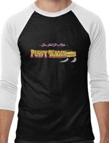 Pussy Wagon alternate Blk Men's Baseball ¾ T-Shirt